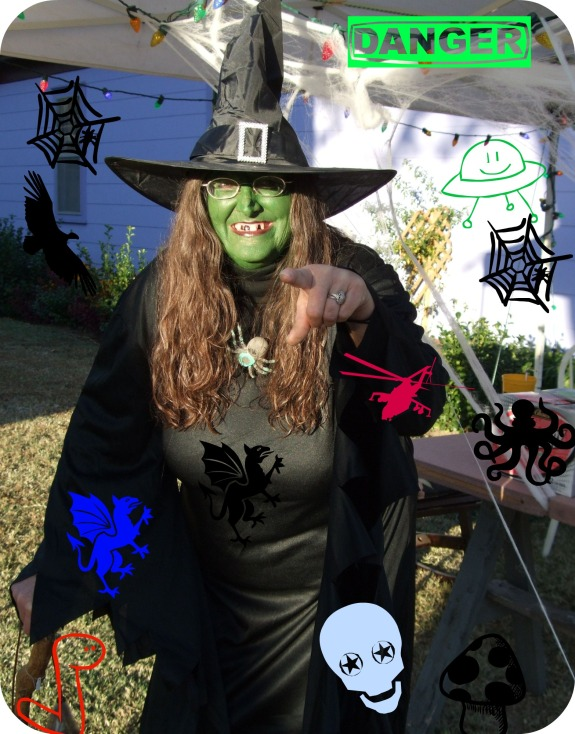 Arkansas City, Kansas Halloween Witch