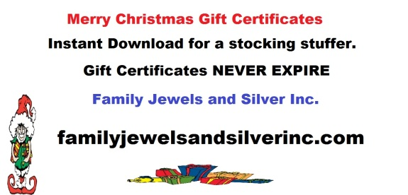 Family Jewels Gift Certificates