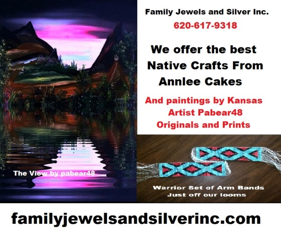 Family Jewels Sells Native Crafts and Art